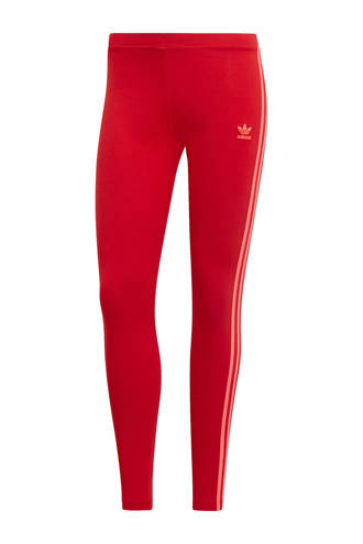 originals Adicolor legging rood/roze