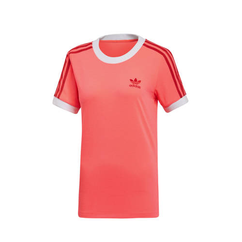 adidas originals Adicolor T-shirt roze-rood