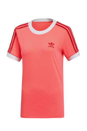 originals Adicolor T-shirt roze/rood