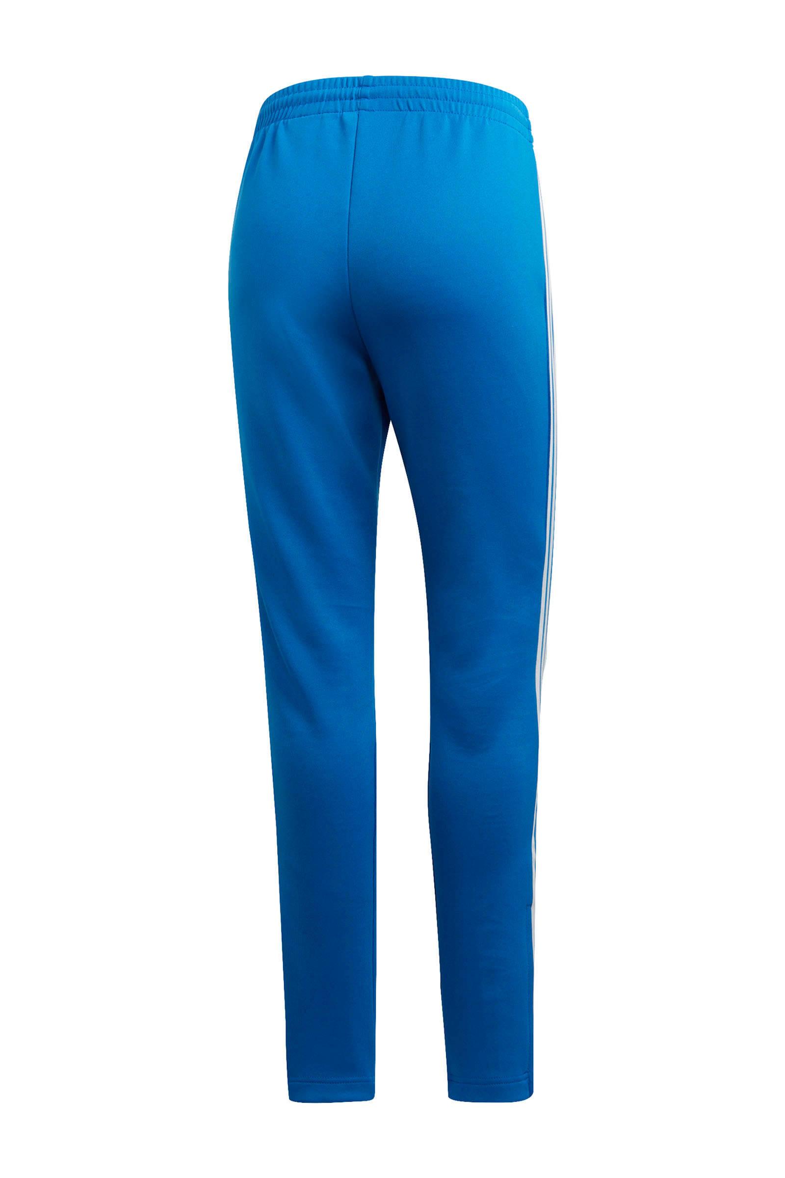 adidas originals Adicolor trainingsbroek blauw | wehkamp