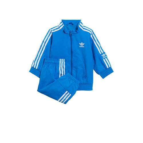 adidas originals trainingspak blauw