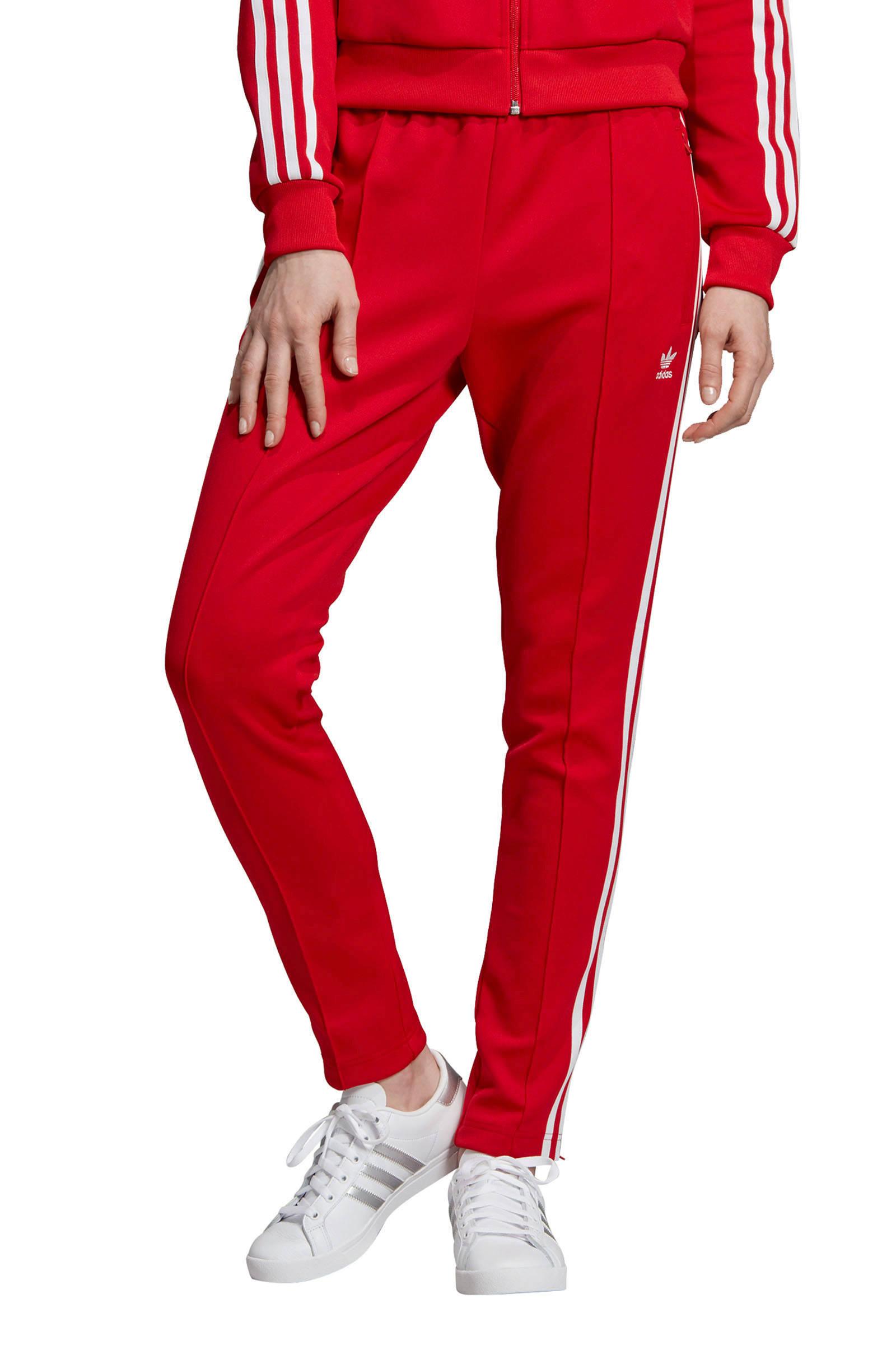 1930152503 adidas trainingsbroek rood - palletandplate.com