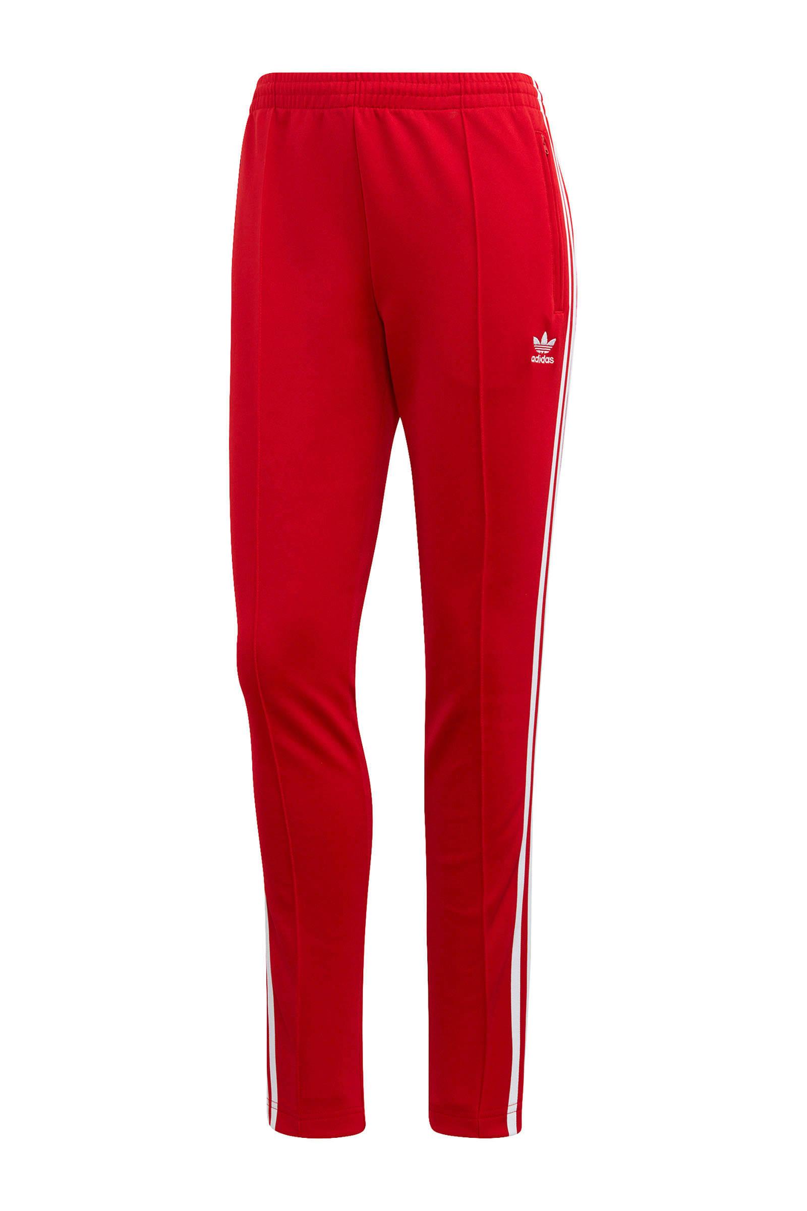 Adicolor sportbroek rood