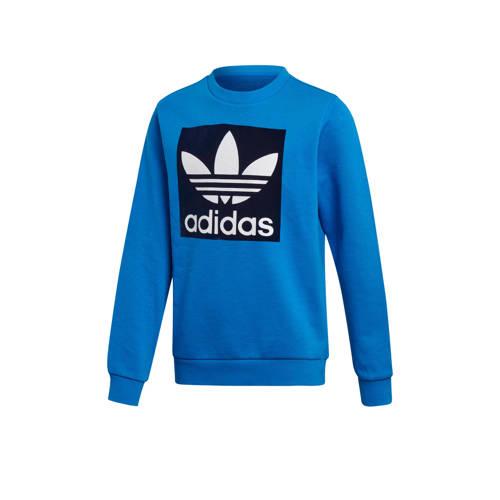 adidas originals Adicolor sweater blauw