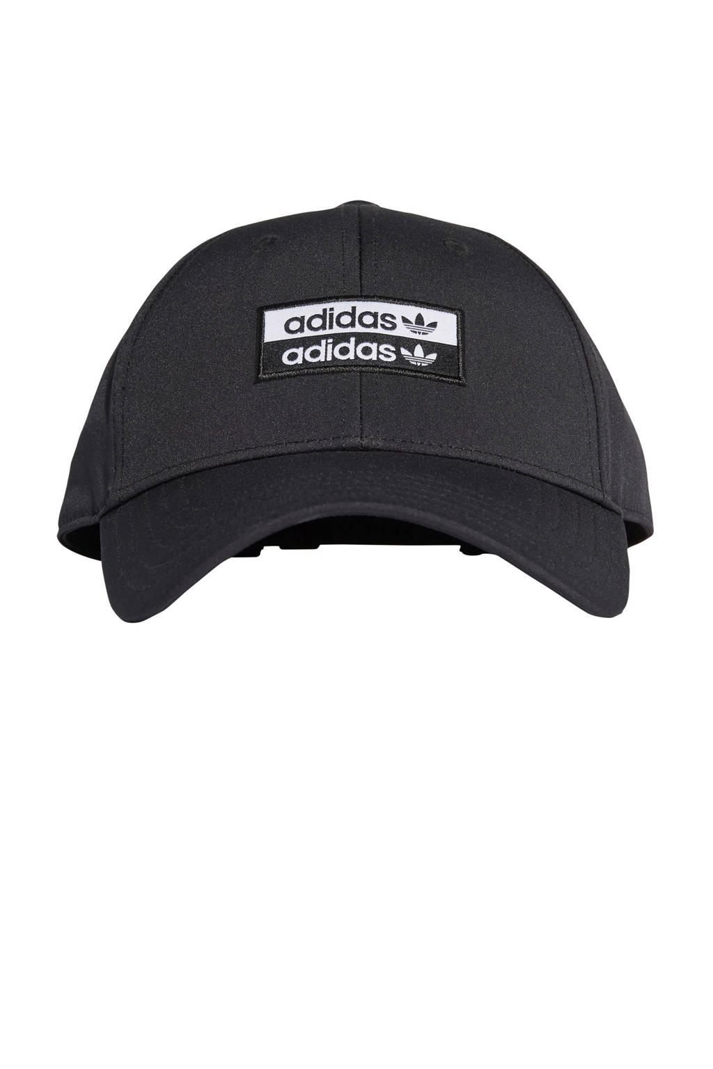adidas Originals pet zwart/wit, Zwart/wit