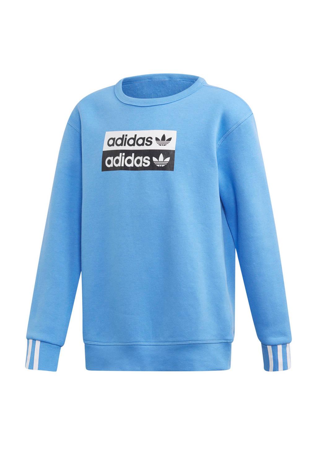 adidas originals   sweater blauw, Blauw