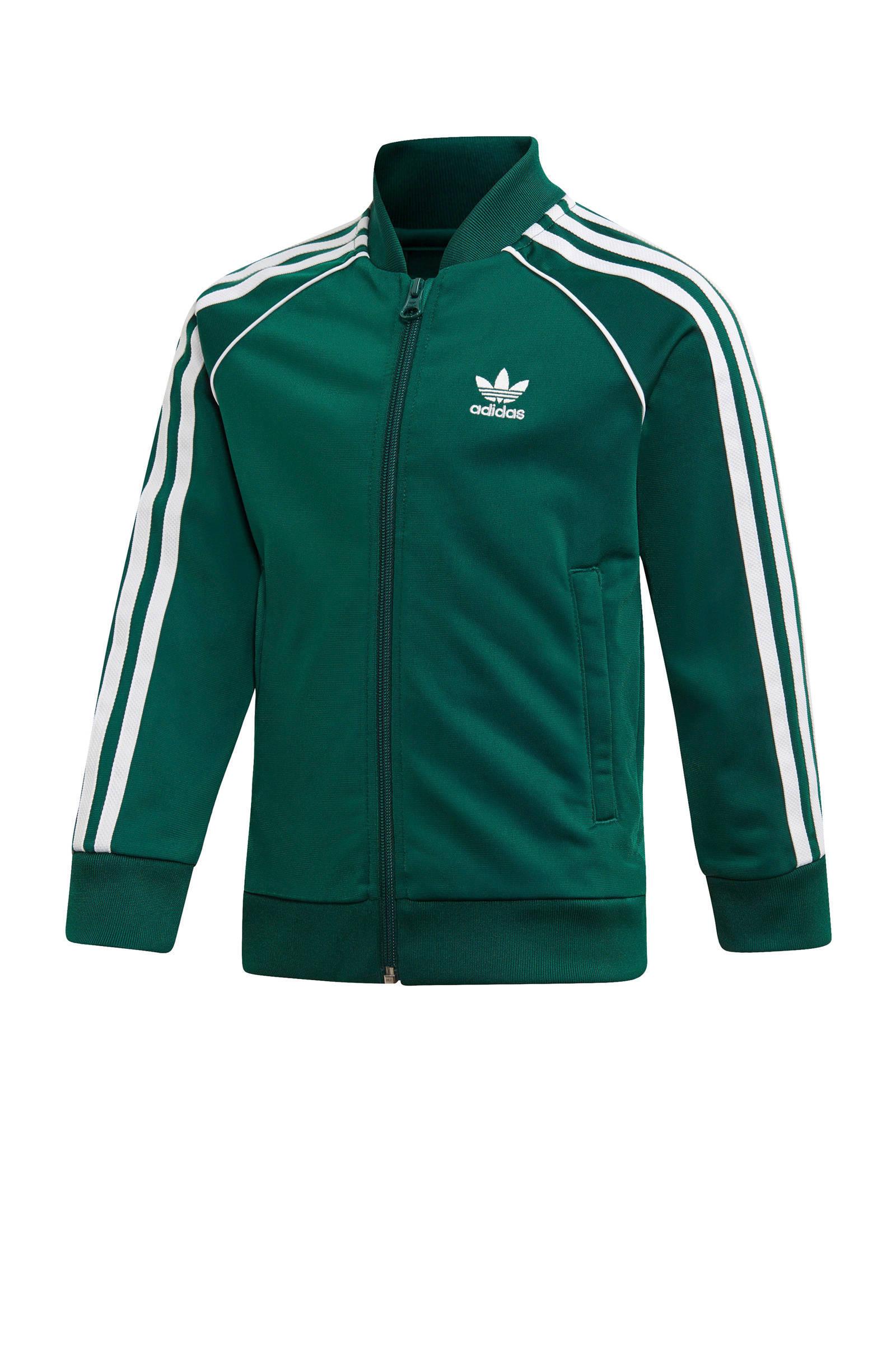 Adicolor trainingspak groen
