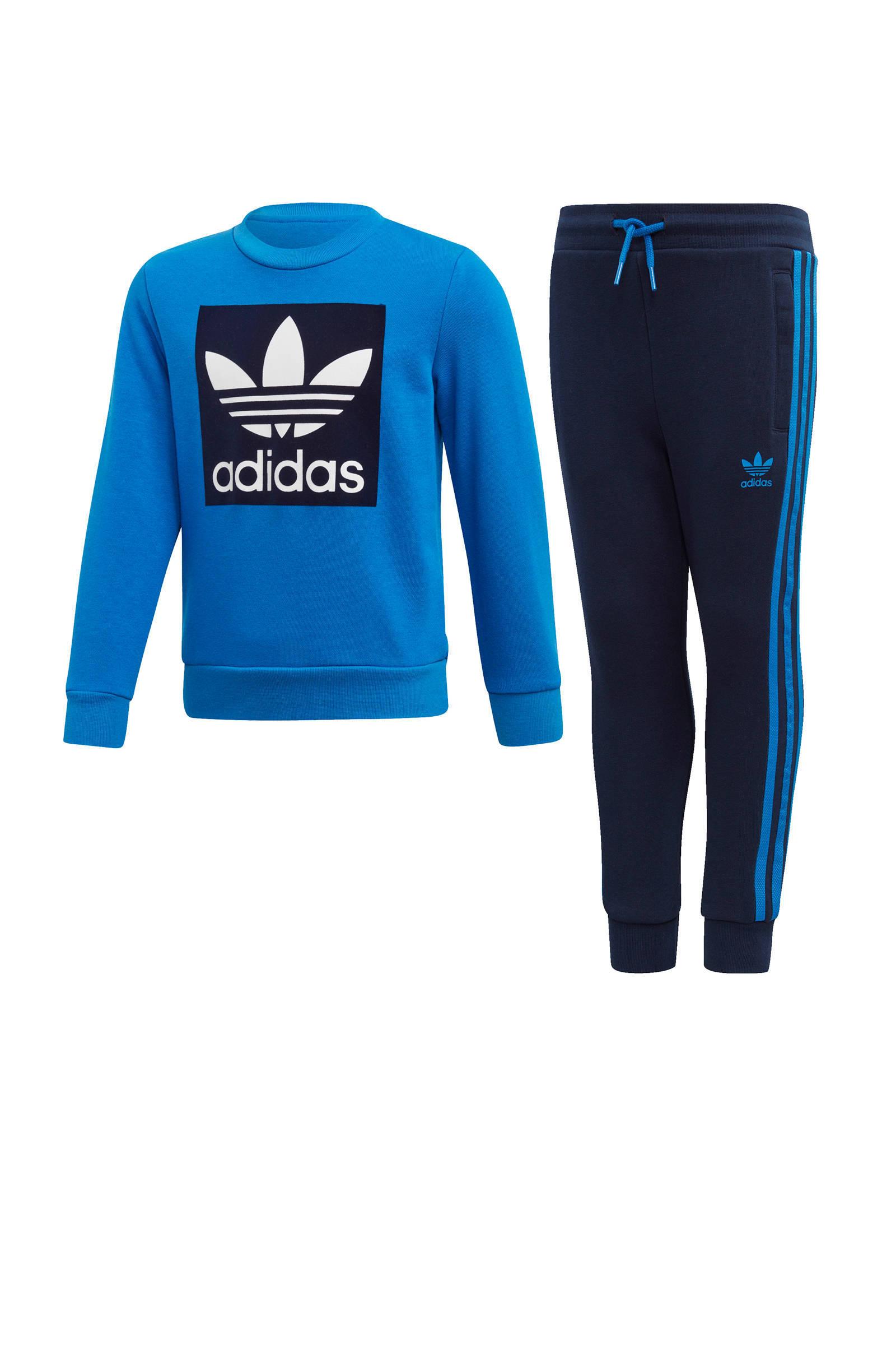adidas shark blauw