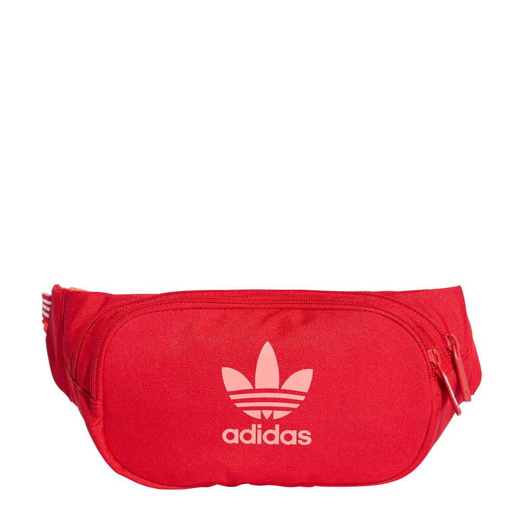 adidas Originals   Adicolor heuptas rood, Rood/lichtroze