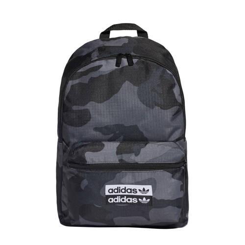 adidas originals rugzak camouflage zwart