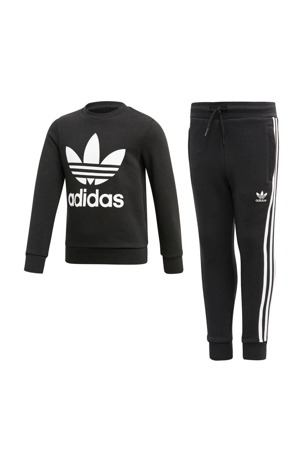 adidas originals   joggingpak zwart, Zwart