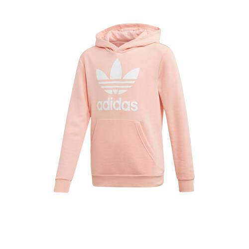 adidas originals Adicolor hoodie roze