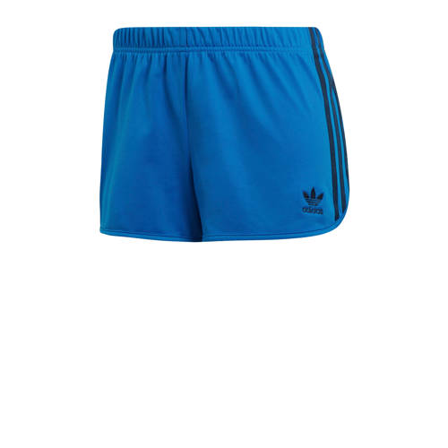 adidas originals short blauw