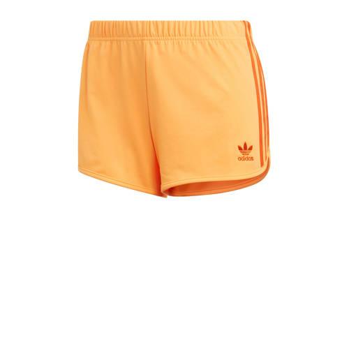 adidas originals sweatshort oranje