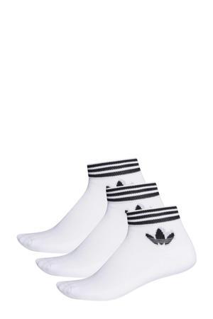 Adicolor enkelsokken - set van 3 wit