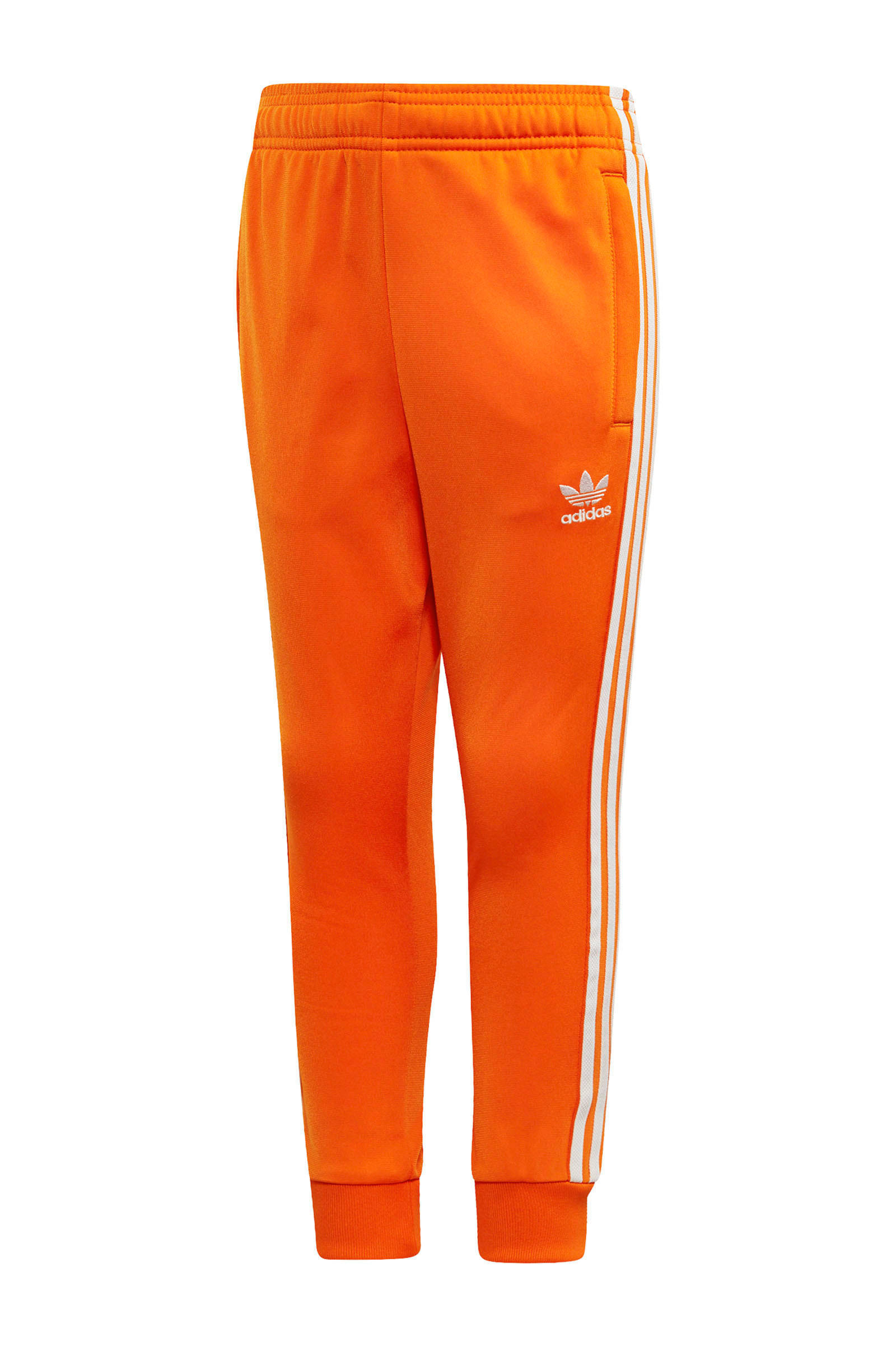 Adicolor trainingspak oranje