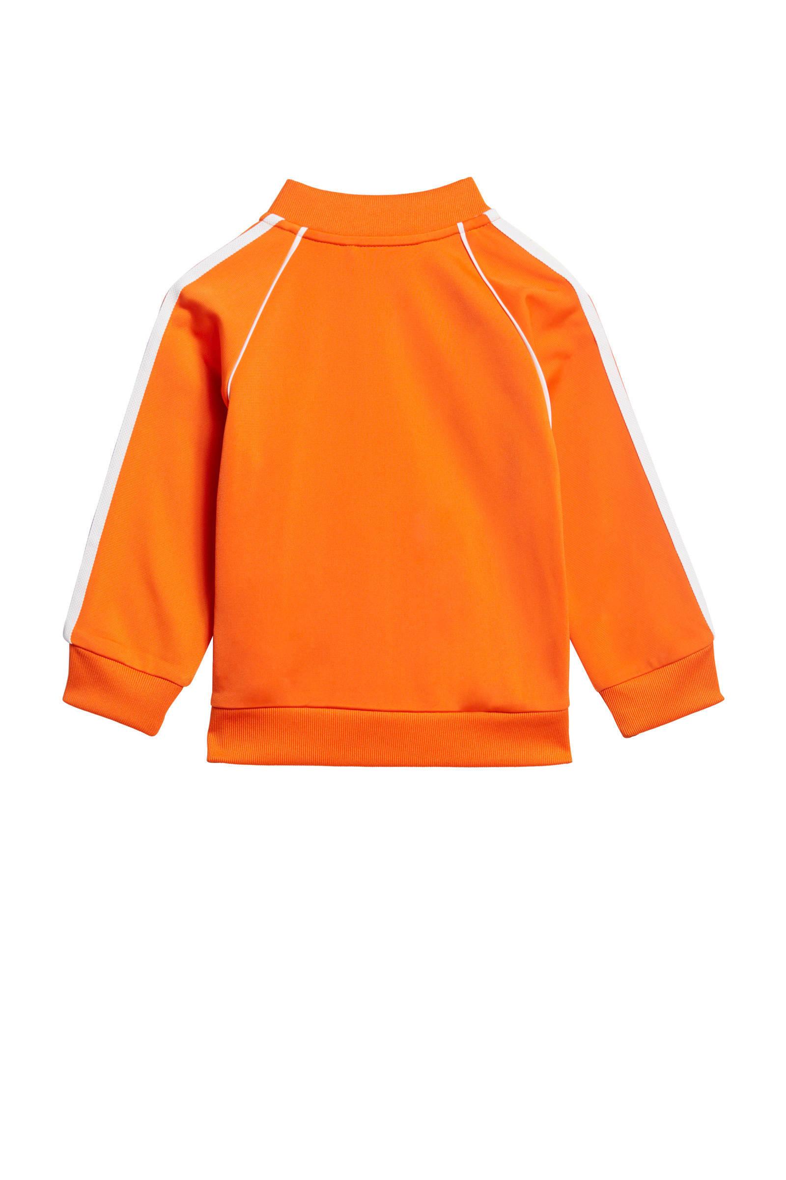 adidas Originals Adicolor trainingspak oranje | wehkamp
