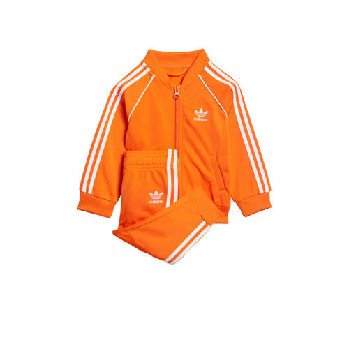 adidas originals Adicolor trainingspak oranje