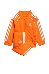 adidas Originals   Adicolor trainingspak oranje, Oranje