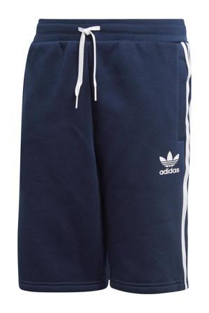 Adicolor sweatshort donkerblauw