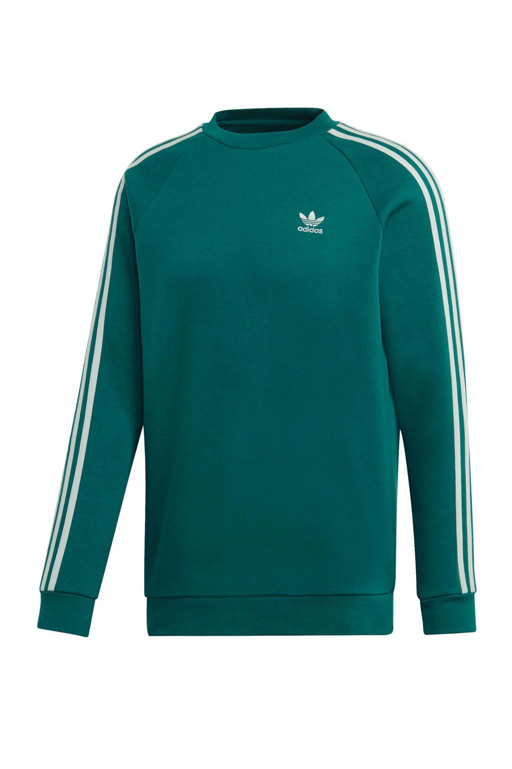 adidas originals   Adicolor sweater groen, Groen/wit