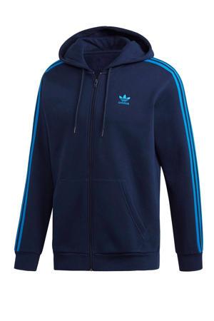 originals   Adicolor vest donkerblauw