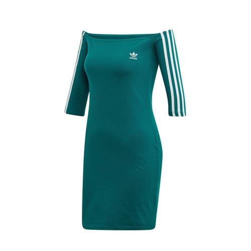 adidas originals jurk groen
