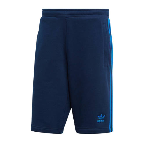 adidas originals sweatshort donkerblauw