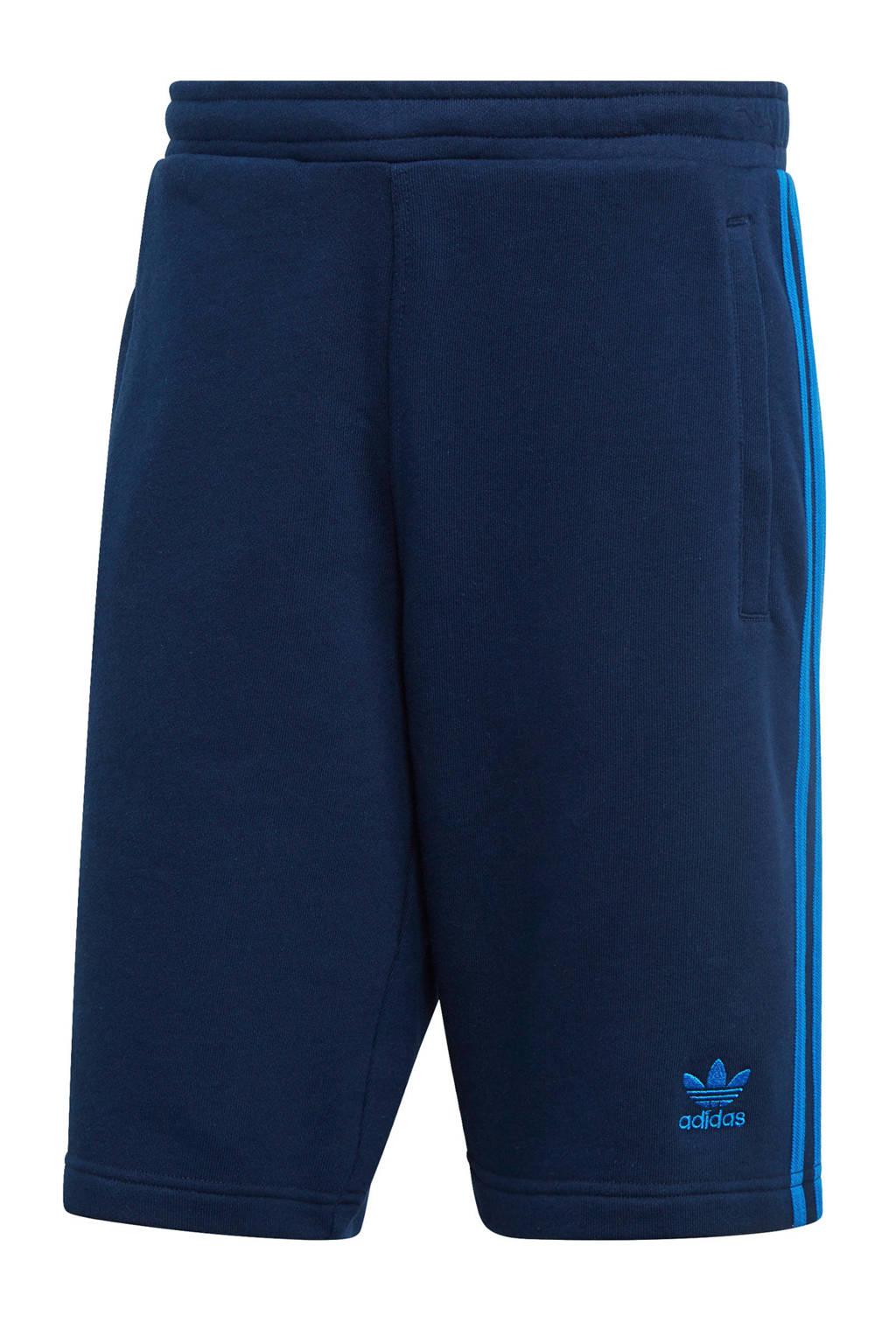 adidas originals   Adicolor sweatshort donkerblauw, Donkerblauw/blauw