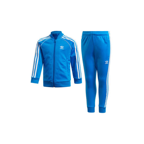 adidas originals Adicolor trainingspak blauw