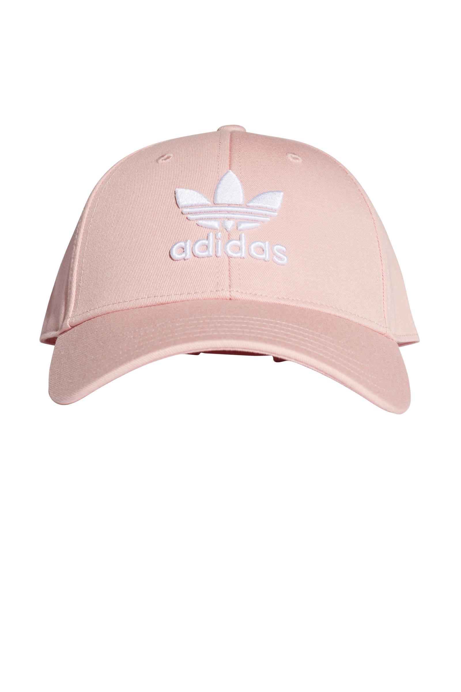 adidas originals pet Baseball Classic Trefoil roze | wehkamp