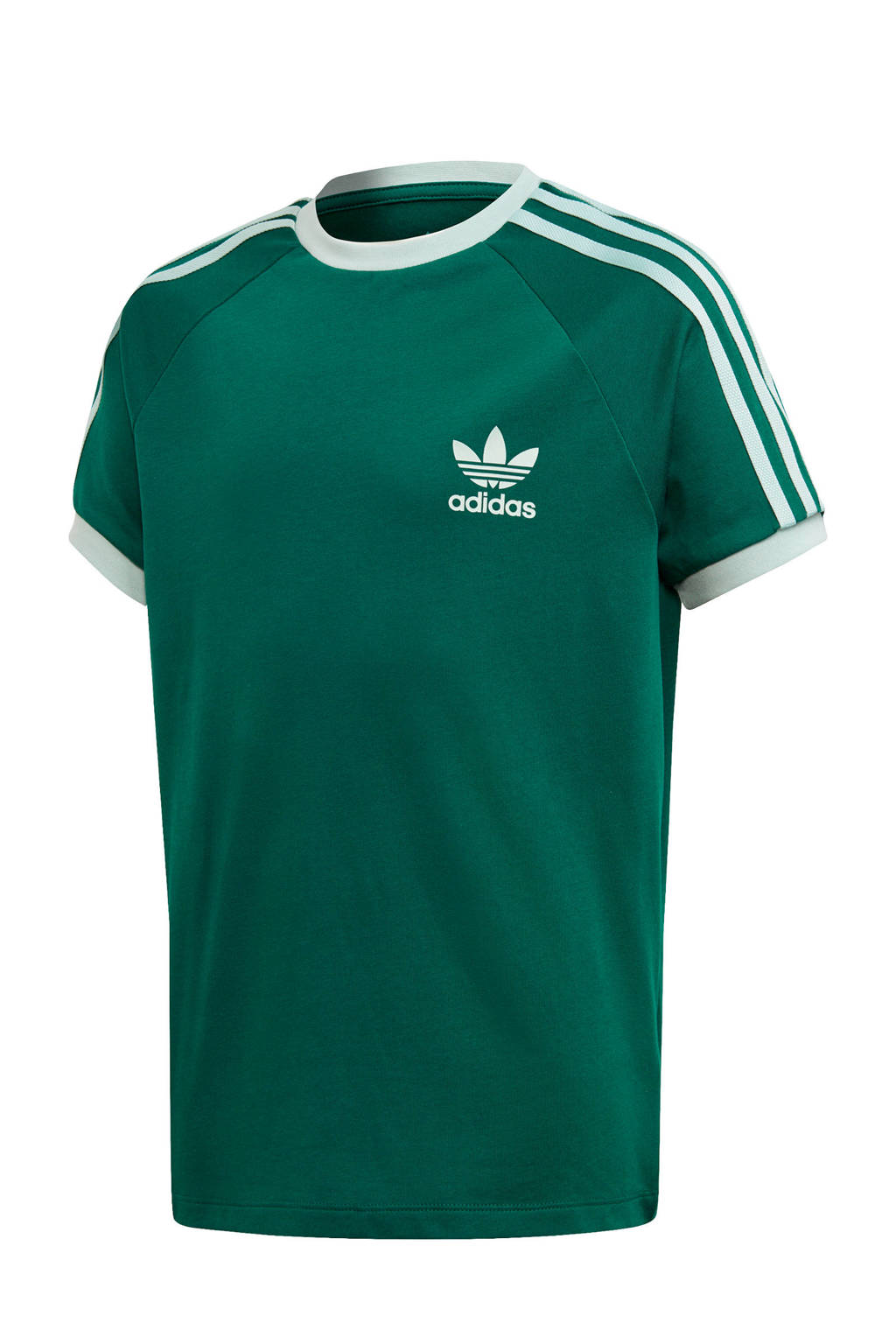 adidas originals T-shirt groen, Groen/wit