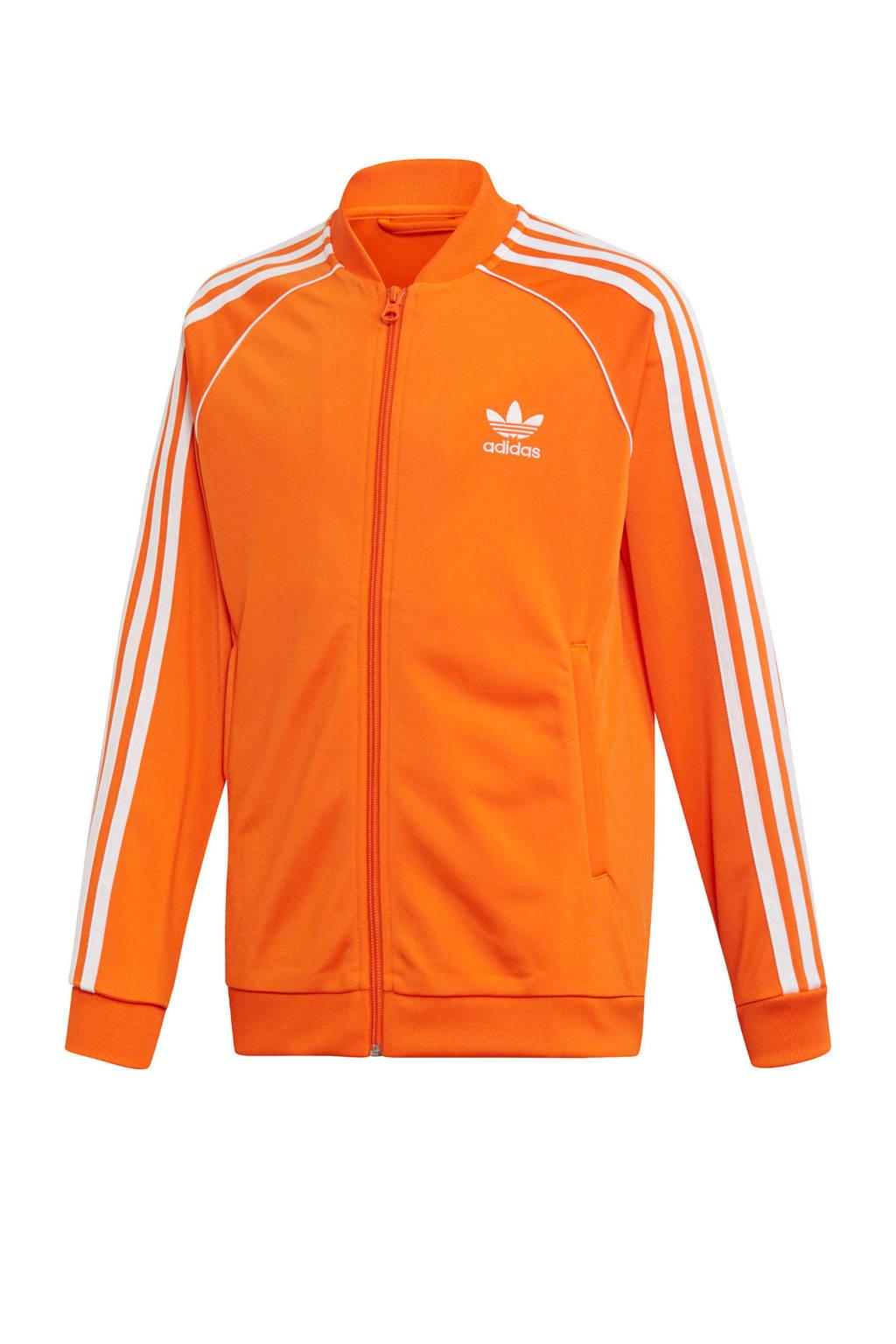 adidas originals   Adicolor vest oranje, Oranje