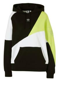 adidas Originals sweater zwart/wit/geel, Zwart/wit/geel