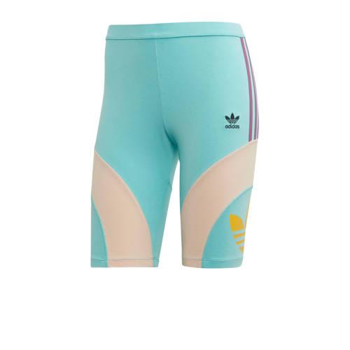 adidas originals cycling short blauw