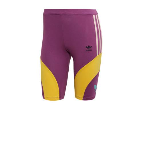 adidas originals cycling short paars