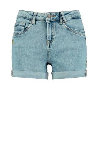 jeans short Ninte met borduursels