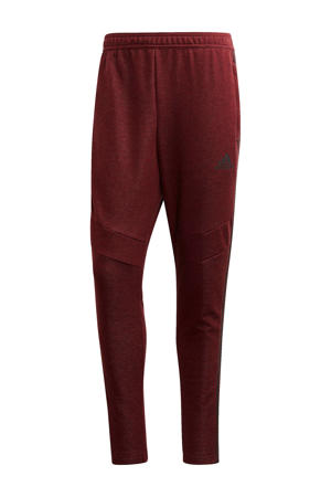 Senior  sportbroek Tiro 19 ft donkerrood