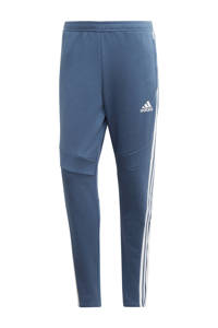 adidas Performance Senior  sportbroek Tiro 19 ft grijsblauw, Grijsblauw