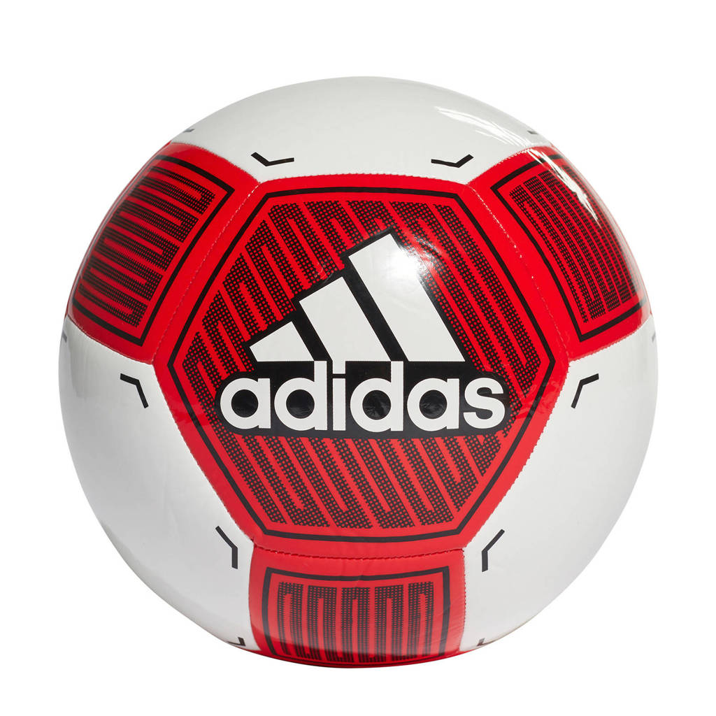 adidas Performance   voetbal Starlancer rood maat, Rood/wit/zwart