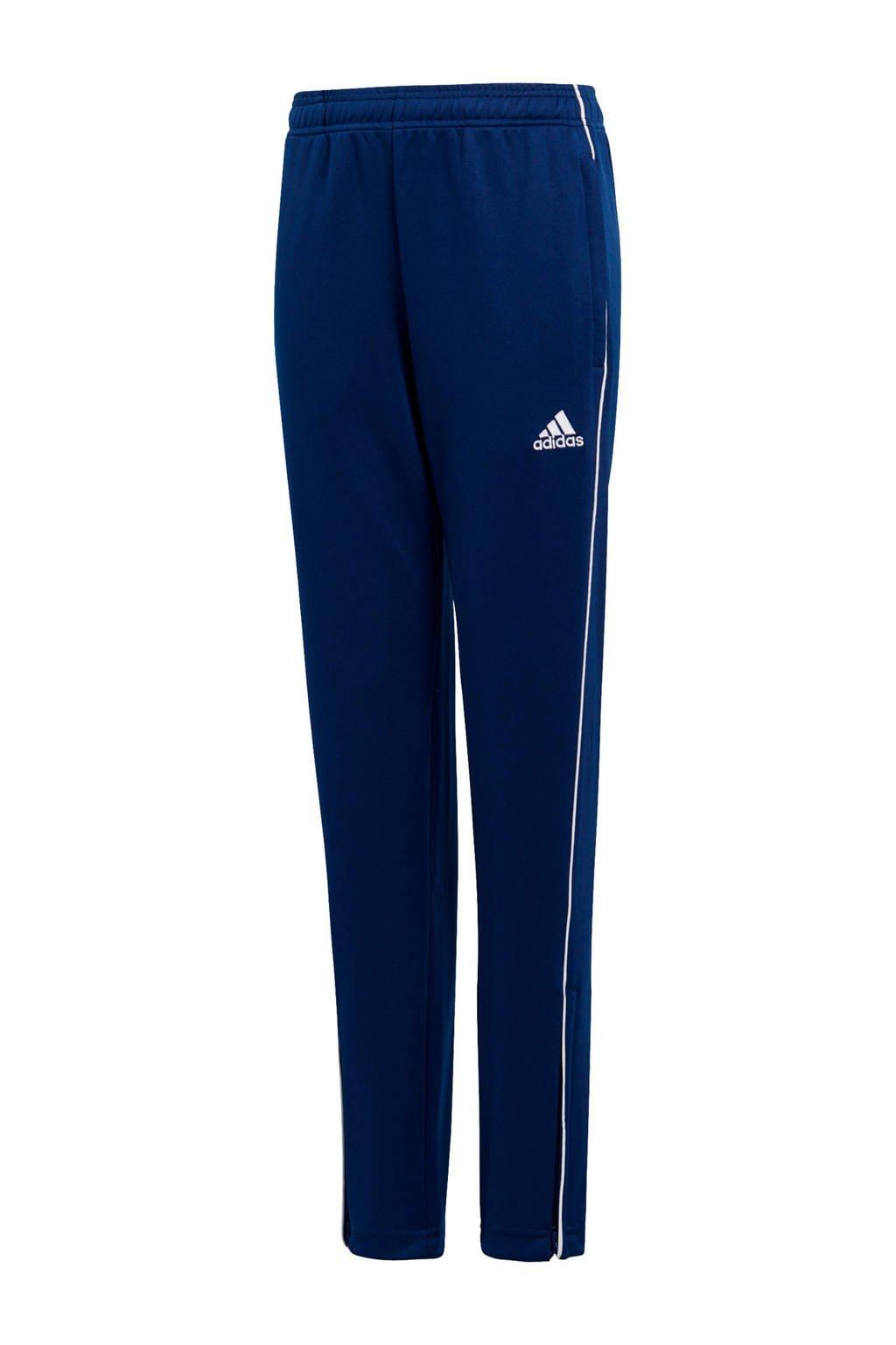 adidas Performance Junior  sportbroek Core 18 donkerblauw, Donkerblauw