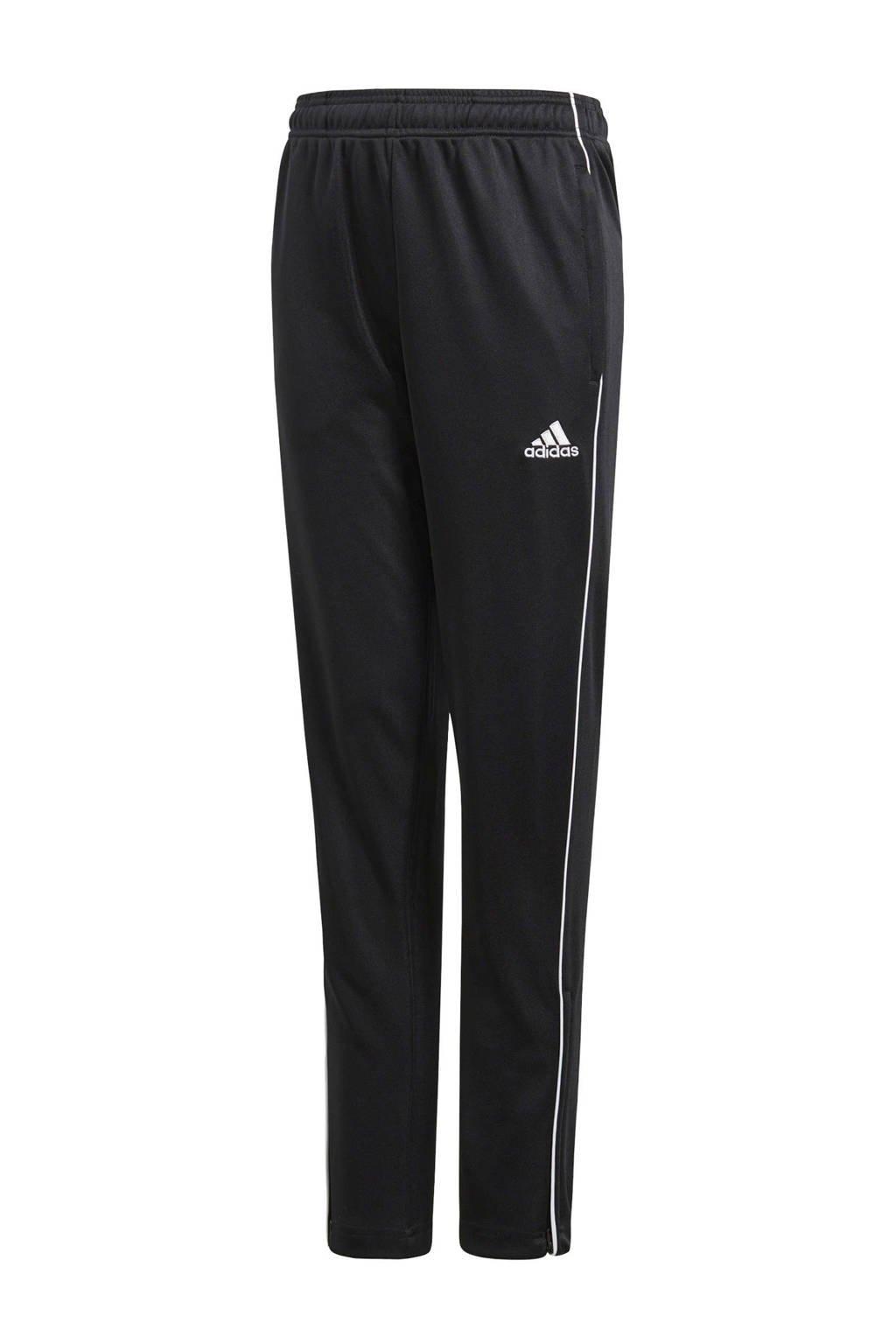 adidas Junior  sportbroek CORE18 zwart, Zwart, Jongens/meisjes