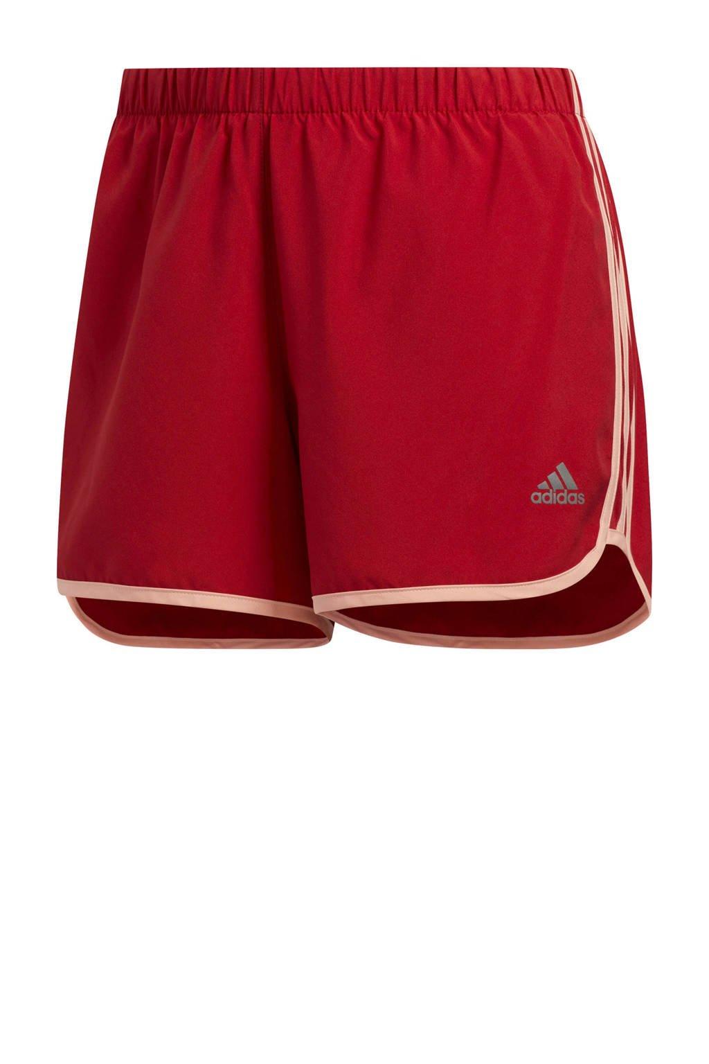 adidas performance hardloopshort rood, Rood