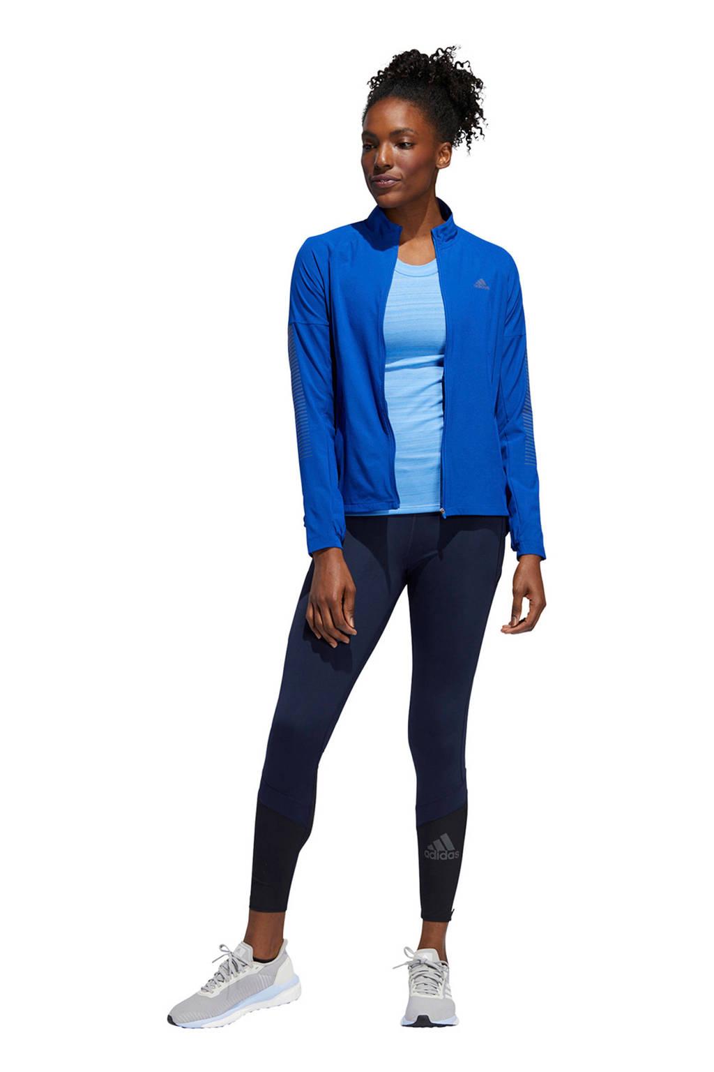 adidas performance hardloopshirt blauw, Blauw