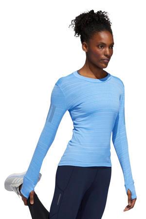 performance hardloopshirt blauw
