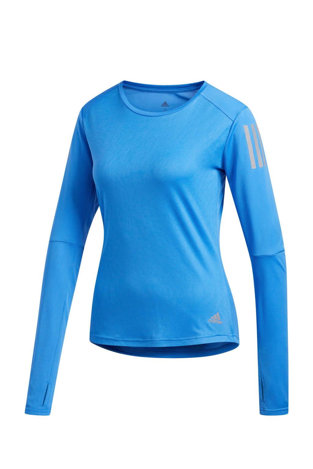 adidas performance hardloop T-shirt lichtroze, Blauw