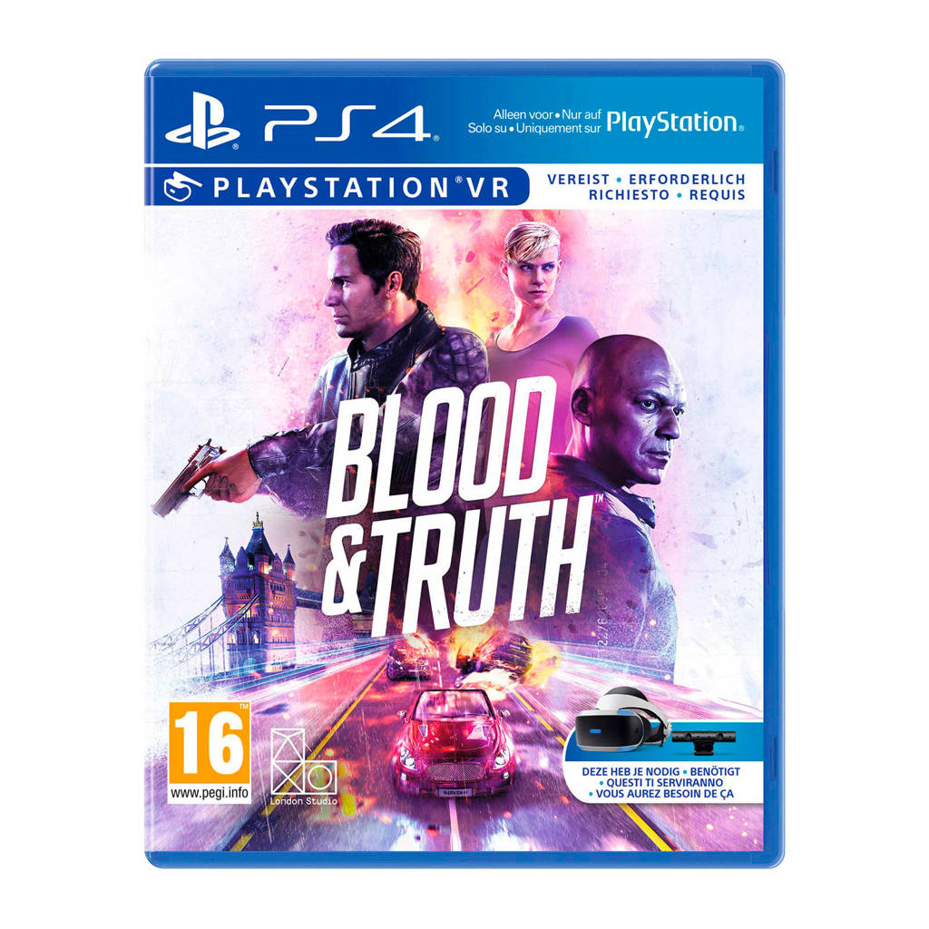 Blood & Truth VR (PlayStation 4), -