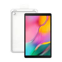 Samsung Galaxy Tab A 10.1 2019 tablet + clear cover, Zwart