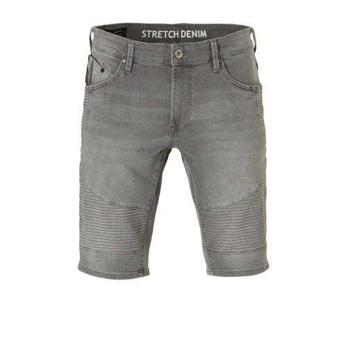 C&A Angelo Litrico regular fit jeans short grijs