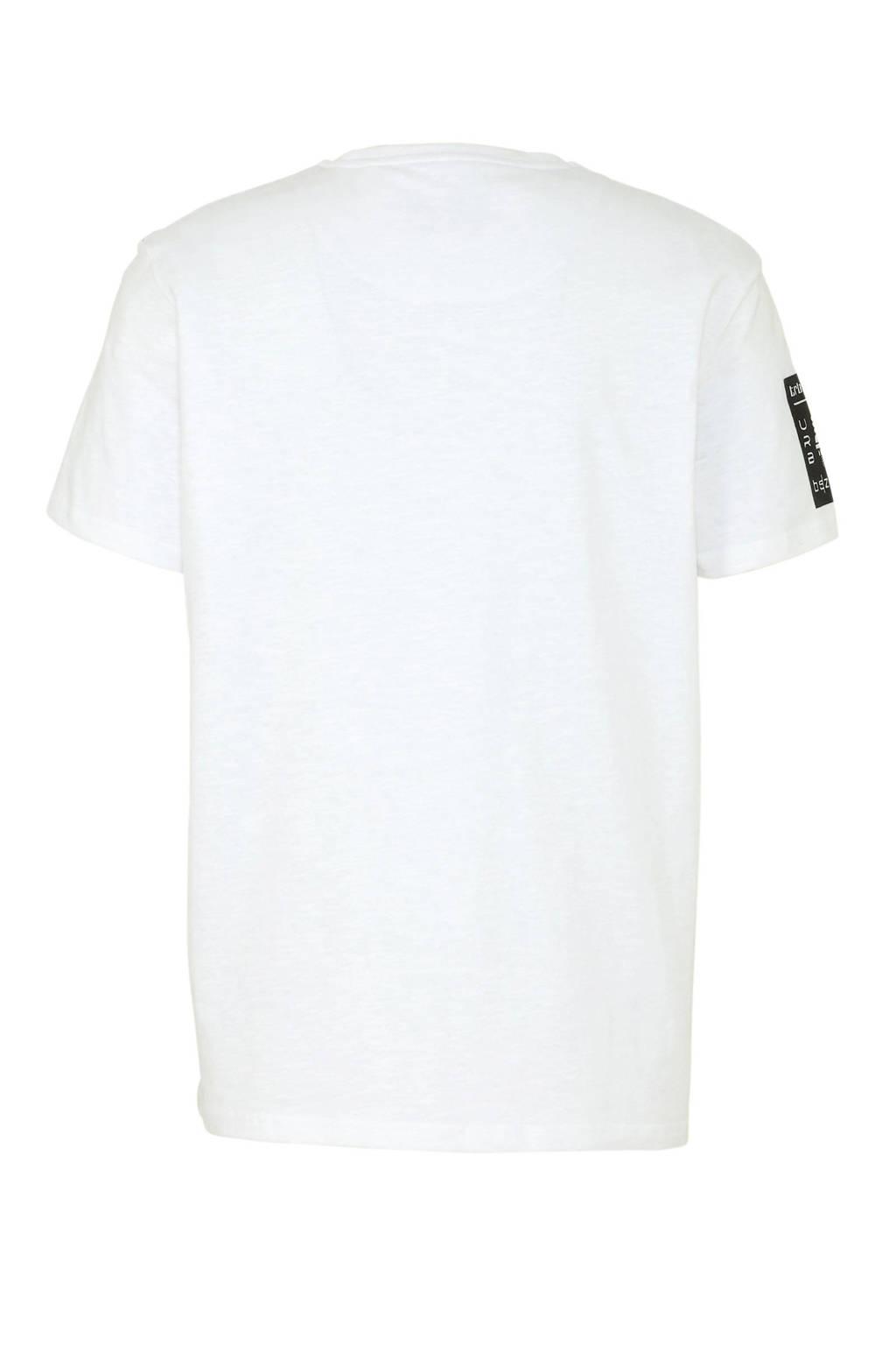C&A Angelo Litrico T-shirt van biologisch katoen wit, Wit